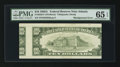 Error Notes:Skewed Reverse Printing, Fr. 2028-F $10 1988A Federal Reserve Note. PMG Gem Uncirculated 65EPQ.. ...