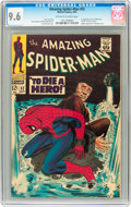 Silver Age (1956-1969):Superhero, The Amazing Spider-Man #52 (Marvel, 1967) CGC NM+ 9.6 Off-white towhite pages....