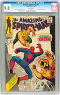 Silver Age (1956-1969):Superhero, The Amazing Spider-Man #57 (Marvel, 1968) CGC NM/MT 9.8 White pages....