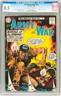 Silver Age (1956-1969):War, Our Army at War #95 (DC, 1960) CGC VF+ 8.5 Off-white to white pages....