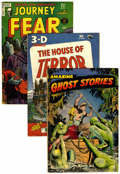 Golden Age (1938-1955):Horror, Miscellaneous Golden Age Horror Group (Various Publishers, 1951-53)Condition: Average GD.... (Total: 6 Comic Books)