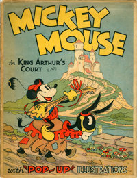 "The ""Pop-Up"" Mickey Mouse in King Arthur's Court (Blue Ribbon, 1933)"
