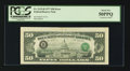 Error Notes:Third Printing on Reverse, Fr. 2119-B $50 1977 Federal Reserve Note. PCGS About New 50PPQ.. ...