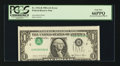 Error Notes:Inverted Third Printings, Fr. 1912-B $1 1981A Federal Reserve Note. PCGS Gem New 66PPQ.. ...