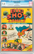 Golden Age (1938-1955):Superhero, Big Shot Comics #1 Larson pedigree (Columbia, 1940) CGC FN/VF 7.0 White pages....