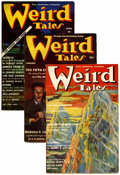 Pulps:Horror, Weird Tales Group (Popular Fiction, 1939).... (Total: 7 Items)