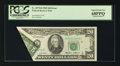 Error Notes:Foldovers, Fr. 2075-B $20 1985 Federal Reserve Note. PCGS Superb Gem New68PPQ.. ...