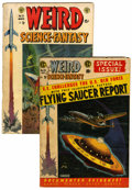 Golden Age (1938-1955):Science Fiction, Weird Science-Fantasy #23 and 26 Group (EC, 1954) Condition:Average GD/VG.... (Total: 2 Comic Books)