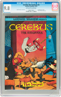 Cerebus The Aardvark #6 (Aardvark-Vanaheim, 1978) CGC NM/MT 9.8 Off-white to white pages