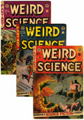 Golden Age (1938-1955):Horror, Weird Science #17, 21, and 22 Group (EC, 1953).... (Total: 3 ComicBooks)
