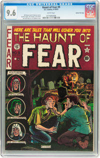 Haunt of Fear #9 Gaines File pedigree 7/12 (EC, 1951) CGC NM+ 9.6 White pages