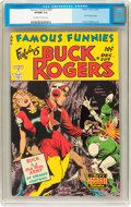 Golden Age (1938-1955):Science Fiction, Famous Funnies #209 (Eastern Color, 1953) CGC VF/NM 9.0 Off-whiteto white pages....