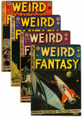 Golden Age (1938-1955):Science Fiction, Weird Fantasy #9, and 12-14 Group (EC, 1951-52).... (Total: 4 ComicBooks)