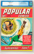 Golden Age (1938-1955):Miscellaneous, Popular Comics #60 Mile High pedigree (Dell, 1941) CGC NM 9.4 Off-white pages....