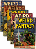 Golden Age (1938-1955):Science Fiction, Weird Fantasy #15-19 Group (EC, 1952-53).... (Total: 5 Comic Books)