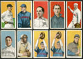 Baseball Cards:Lots, 1909-11 T206 White Border Scarcer Backs Collection (10). ...