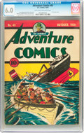 Golden Age (1938-1955):Superhero, Adventure Comics #43 (DC, 1939) CGC FN 6.0 Light tan to off-white pages....