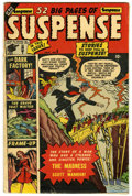 Golden Age (1938-1955):Horror, Suspense #6 (Atlas, 1951) Condition: VG+....