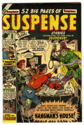 Golden Age (1938-1955):Horror, Suspense #5 (Atlas, 1950) Condition: VG/FN....