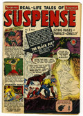 Golden Age (1938-1955):Horror, Suspense #3 (Atlas, 1950) Condition: Apparent VG/FN....