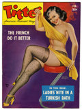 Magazines:Miscellaneous, Titter V8#4 (Titter, Inc., 1952) Condition: FN/VF....