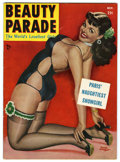 Magazines:Miscellaneous, Beauty Parade V10#5 (Beauty Parade, Inc., 1951) Condition: FN+....