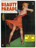 Magazines:Miscellaneous, Beauty Parade V9#3 (Beauty Parade, Inc., 1950) Condition: FN/VF....