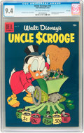 Golden Age (1938-1955):Cartoon Character, Uncle Scrooge #10 File Copy (Dell, 1955) CGC NM 9.4 Off-white to white pages....