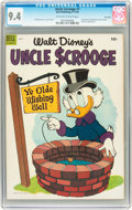 Golden Age (1938-1955):Funny Animal, Uncle Scrooge #7 File Copy (Dell, 1954) CGC NM 9.4 Off-white towhite pages....