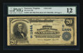 National Bank Notes:Virginia, Narrows, VA - $20 1902 Plain Back Fr. 658 The First NB Ch. #(S)11444. ...