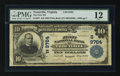 National Bank Notes:Virginia, Troutville, VA - $10 1902 Plain Back Fr. 627 The First NB Ch. #(S)9764. ...