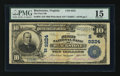 National Bank Notes:Virginia, Blackstone, VA - $10 1902 Plain Back Fr. 626 The First NB Ch. #(S)9224. ...