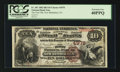 National Bank Notes:Pennsylvania, New Bethlehem, PA - $10 1882 Brown Back Fr. 487 The First NB Ch. #4978. ...