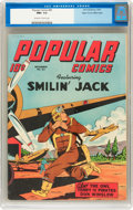 Golden Age (1938-1955):Cartoon Character, Popular Comics #82 Mile High pedigree (Dell, 1942) CGC NM+ 9.6 Off-white to white pages....