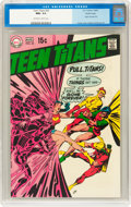 Silver Age (1956-1969):Superhero, Teen Titans #22 Pacific Coast pedigree (DC, 1969) CGC NM+ 9.6Off-white to white pages....