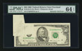 Error Notes:Foldovers, Fr. 2124-D $50 1990 Federal Reserve Note. PMG Choice Uncirculated64 EPQ.. ...