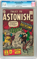 Silver Age (1956-1969):Science Fiction, Tales to Astonish #32 (Marvel, 1962) CGC VF- 7.5 Cream to off-whitepages....