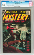 Silver Age (1956-1969):Horror, Journey Into Mystery #43 (Marvel, 1957) CGC VF/NM 9.0 Whitepages....