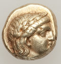 Ancients:Greek, Ancients: Lesbos, Mytilene. Ca. 377-326 B.C. EL hekte,...