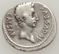 Ancients:Roman Imperial, Ancients: Augustus. 27 B.C.-A.D. 14. AR denarius,...