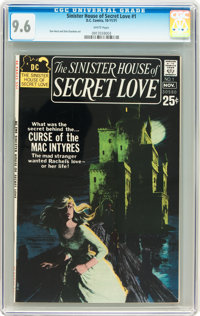 Sinister House of Secret Love #1 (DC, 1971) CGC NM+ 9.6 White pages
