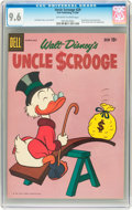 Silver Age (1956-1969):Cartoon Character, Uncle Scrooge #29 (Dell, 1960) CGC NM+ 9.6 Off-white to white pages....