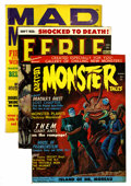 Magazines:Horror, Miscellaneous Monster Magazines Group (Various Publishers, 1959-66).... (Total: 8 Comic Books)