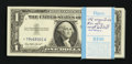 Small Size:Silver Certificates, Fr. 1619* $1 1957 Silver Certificates. Pack of 100. Gem Crisp Uncirculated.. ... (Total: 100 notes)