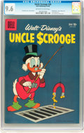 Silver Age (1956-1969):Cartoon Character, Uncle Scrooge #26 (Dell, 1959) CGC NM+ 9.6 Off-white to white pages....
