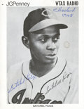 """Baseball Collectibles:Photos, Satchel Paige """"Cleveland 1948"""" Signed Photograph...."""