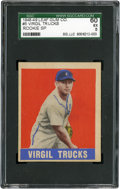 Baseball Cards:Singles (1940-1949), 1948-49 Leaf Virgil Trucks #5 SGC 60 EX 5....