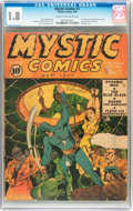 Golden Age (1938-1955):Superhero, Mystic Comics #1 (Timely, 1940) CGC GD- 1.8 Cream to off-white pages....