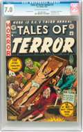 Golden Age (1938-1955):Horror, Tales of Terror Annual #3 (EC, 1953) CGC FN/VF 7.0 Off-white towhite pages....