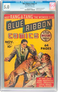 Golden Age (1938-1955):Adventure, Blue Ribbon Comics #1 (MLJ, 1939) CGC VG/FN 5.0 Cream to off-whitepages....